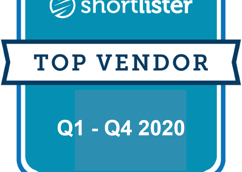 Applied Health Analytics Named One of Shortlister's 2020 Top Vendors Four Consecutive Quarters